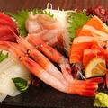 料理メニュー写真市場直送!新鮮魚介のお刺身各種