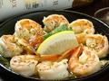 料理メニュー写真海老チリ・海老のマヨネーズあえ