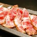 料理メニュー写真さがり肉のたたき