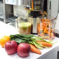 旬な食材を贅沢に酵素ジュースに♪