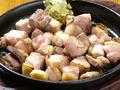 料理メニュー写真地鶏塩焼き
