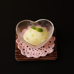 料理メニュー写真グレープフルーツシャーベット