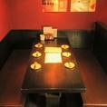 4~6名様用のテーブル席。