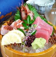 名物干物は勿論、鮮魚にも自信あり!魚串干物or鮮魚進呈