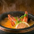 料理メニュー写真アジア薫るトム・ヤム・クンスープスープ