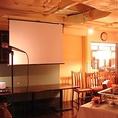 【結婚披露パーティー】東京駅丸の内南口から徒歩1分♪パーティーを盛り上げるプロジェクターやスクリーンも完備