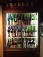 自慢の地酒、常時80種以上あります。