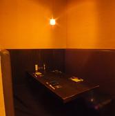 個室席も雰囲気抜群です。席に限りがありますのでお早目のご予約を!!