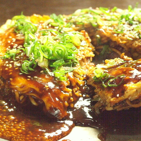 【本場の味をどうぞ!】広島風お好み焼きはできたて!あっつあつ!ボリューム満点!