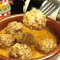 料理メニュー写真アルボンディガス(スペイン風ミートボール)