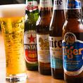 ブラジリアンスタイルの料理にもぴったりと合う、南米を中心にした海外ビールは全60種類以上をご用意♪コロナやバドワイザーといった定番の海外ビールも、もちろんご用意!!飲み放題のみのコースもご用意しておりますので、お気軽にお問い合わせください♪