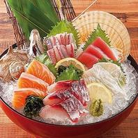 とびきり新鮮な魚介