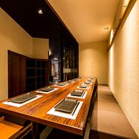 《全席完全個室》和モダン溢れる個室空間!