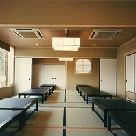 和食屋ならではのシーンに合わせたお席もご用意