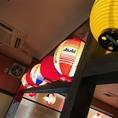 西調布駅駅からスグ♪コスパ抜群の赤ちょうちんがともって雰囲気も盛り上がっています!