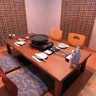 【完全個室完備】1階席は2名~24名まで収容可能♪