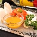 料理メニュー写真ヤシの新芽サラダ