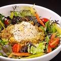 料理メニュー写真生野菜たっぷり半熟卵のせピリ辛タコライス