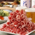 料理メニュー写真● 特選ラムしゃぶセット 1人前【ラム肉・野菜盛り合わせ付き】