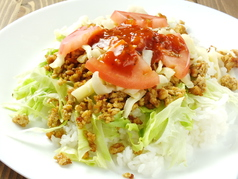 料理メニュー写真Taco-Rice