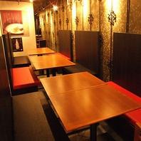 ★可動式のテーブル・ソファーで大人数の歓迎会に対応★