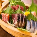 料理メニュー写真旬の魚豪華お造り盛り合わせ(5点)