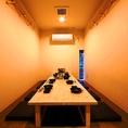 個室は2~20名迄◎週末は特に混み合いマス。