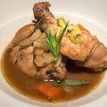 料理メニュー写真骨つき鳥もも肉のビネガー煮込