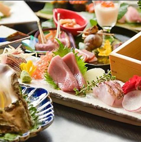 お酒と本格料理を楽しめるカジュアル割烹!横浜駅きた西口徒歩3分!!!