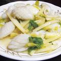 料理メニュー写真イカとセロリ炒め