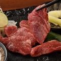料理メニュー写真熊本馬刺しの赤身
