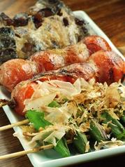 料理メニュー写真トマト焼2本