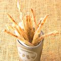料理メニュー写真北海道産 サーモンジャーキーのスティック揚げ