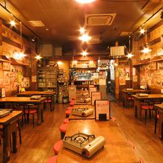 韓国路地裏食堂 カントンの思い出 上野店の雰囲気1