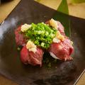 料理メニュー写真肉すし(馬肉)