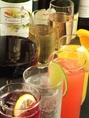 ドリンクも豊富!生ビール・ワイン・焼酎・ウィスキー・サワー・梅酒・カクテルは50種ご用意☆