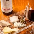 料理メニュー写真4種のチーズ盛合わせ