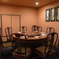 【2階】円テーブルの完全個室です。