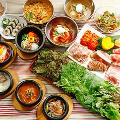 韓国料理 食べ放題 プングム フレッシュ店の特集写真
