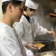 【料理スタッフ】熟練の技!極み!