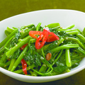 料理メニュー写真空芯菜のトチオソース炒め <中辛>