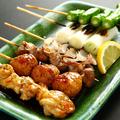 料理メニュー写真串焼き盛合せ(6種)