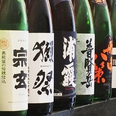 カウンターで嗜む日本酒も至福☆