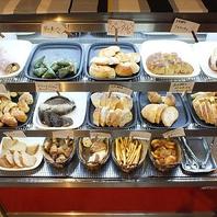 大人気♪ブーガルーの焼き立てパンが女子会は食べ放題。