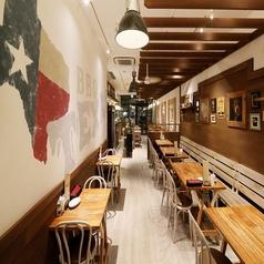 アメリカテキサス州をイメージしたオシャレなデザイナーズ空間♪貸切宴会・パーティー以外にも、女子会や合コン、デートなどプライベートなお食事にもお使いいただけるお席を完備しております!様々なシーンでご利用くださいませ!