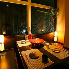 阪急河原町駅から徒歩5分!少人数様からご案内可能な個室席も完備しております。広くて落ち着いた雰囲気の店内で当店自慢のお食事をご堪能ください。