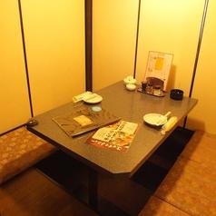 写真は2名様(カップル用)の個室です!!