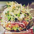 料理メニュー写真海老と大葉焼き