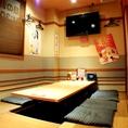 ご宴会でご要望の多い掘り炬燵個室が多数!南吉成で宴会するなら梵天食堂!!!