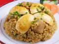 料理メニュー写真チキンカリーチャーハンChicken Curry Chyahan/マトンカリーチャーハンMutton Curry Chyahan